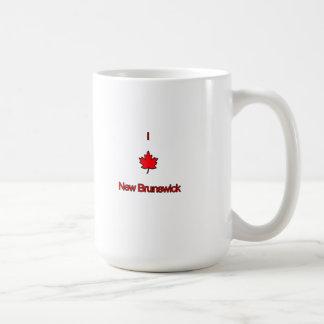 Amo Nuevo Brunswick Tazas
