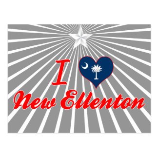 Amo nuevo Ellenton, Carolina del Sur Postal