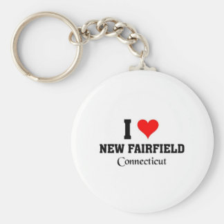 Amo nuevo Fairfield Llavero