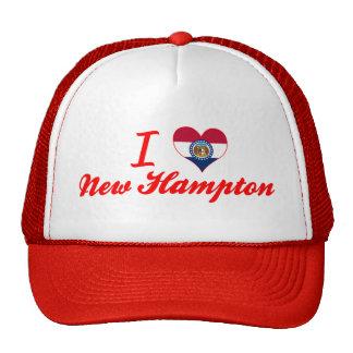 Amo nuevo Hampton, Missouri Gorras De Camionero