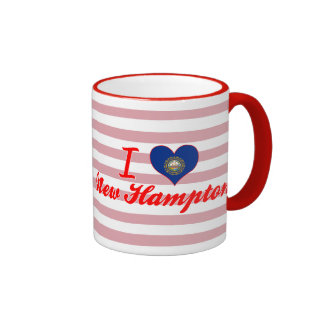 Amo nuevo Hampton, New Hampshire Taza De Café
