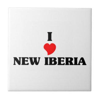 Amo nuevo Iberia Azulejo Cuadrado Pequeño