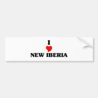Amo nuevo Iberia Pegatina Para Auto