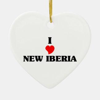 Amo nuevo Iberia Adorno De Cerámica En Forma De Corazón