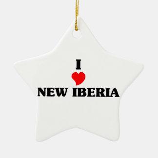 Amo nuevo Iberia Adorno De Cerámica En Forma De Estrella