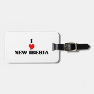 Amo nuevo Iberia Etiquetas Bolsa