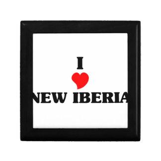 Amo nuevo Iberia Joyero Cuadrado Pequeño