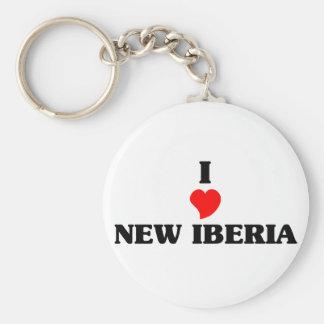 Amo nuevo Iberia Llavero Redondo Tipo Pin