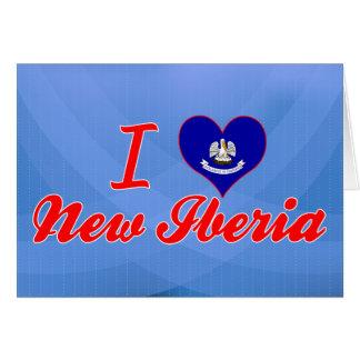 Amo nuevo Iberia, Luisiana Tarjeta De Felicitación