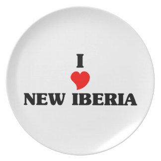 Amo nuevo Iberia Plato De Comida