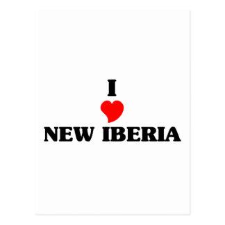Amo nuevo Iberia Tarjeta Postal