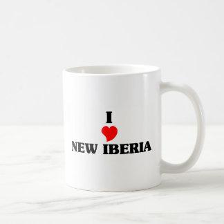 Amo nuevo Iberia Taza Básica Blanca