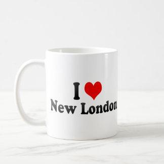 Amo nuevo Londres, Estados Unidos Tazas