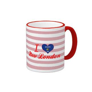 Amo nuevo Londres, Wisconsin Tazas De Café