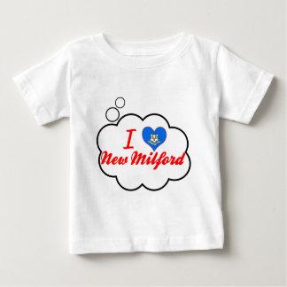 Amo nuevo Milford, Connecticut Camisetas