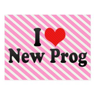 Amo nuevo Prog Tarjeta Postal