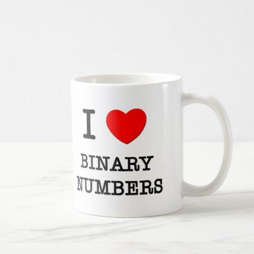 Amo números binarios taza