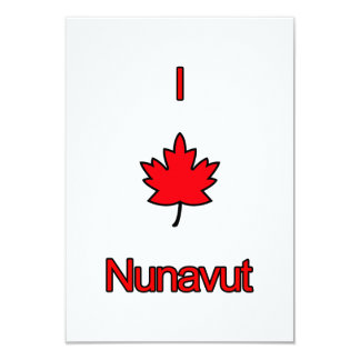 """Amo Nunavut Invitación 3.5"""" X 5"""""""