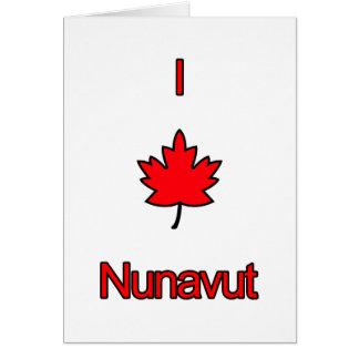 Amo Nunavut Tarjeta Pequeña
