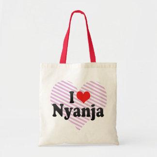 Amo Nyanja Bolsas Lienzo