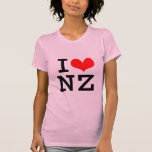 Amo NZ Camisetas