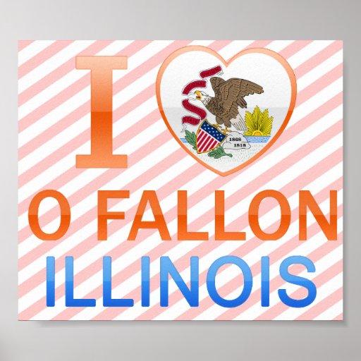 Amo O Fallon, IL Impresiones