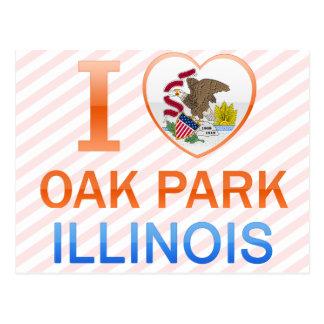 Amo Oak Park, IL Tarjetas Postales
