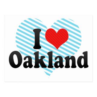 Amo Oakland Tarjetas Postales