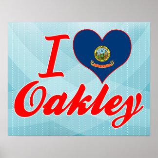 Amo Oakley Idaho Impresiones
