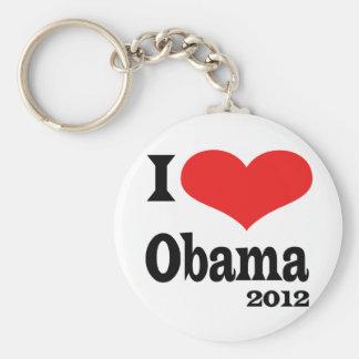 Amo Obama4x4 Llavero Redondo Tipo Pin