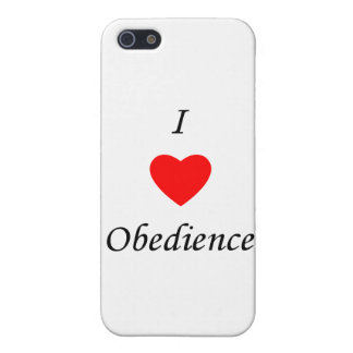 Amo obediencia iPhone 5 coberturas