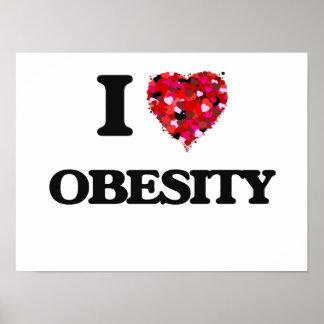 Amo obesidad póster
