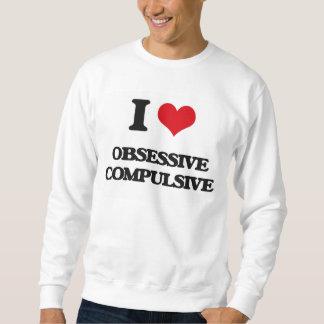 Amo obsesivo pullover sudadera