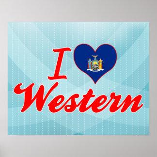 Amo occidental, Nueva York Posters