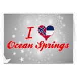 Amo Ocean Springs, Mississippi Tarjeta