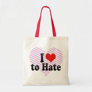 Amo odiar bolsas de mano