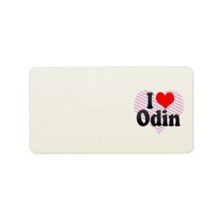 Amo Odin Etiqueta De Dirección