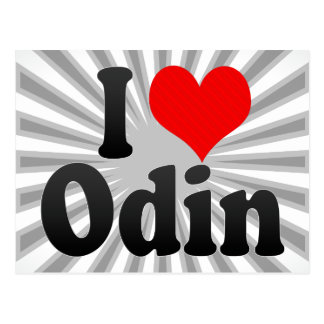 Amo Odin Postales