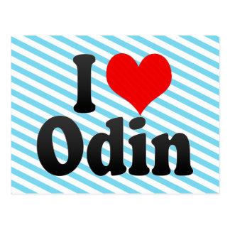 Amo Odin Tarjeta Postal