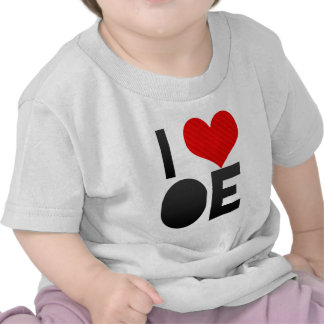 Amo OE Camiseta