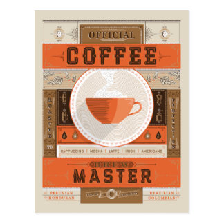 Amo oficial del Brew del café Postales