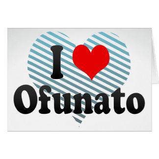 Amo Ofunato, Japón Tarjeta Pequeña