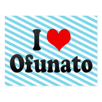 Amo Ofunato, Japón Tarjeta Postal