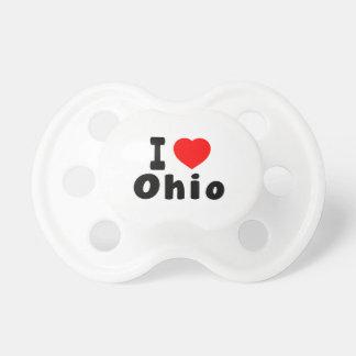 Amo Ohio Chupetes De Bebe