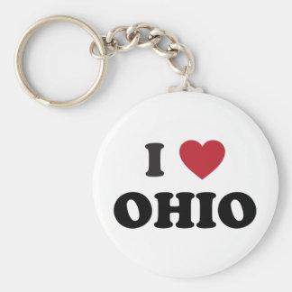 Amo Ohio Llaveros Personalizados