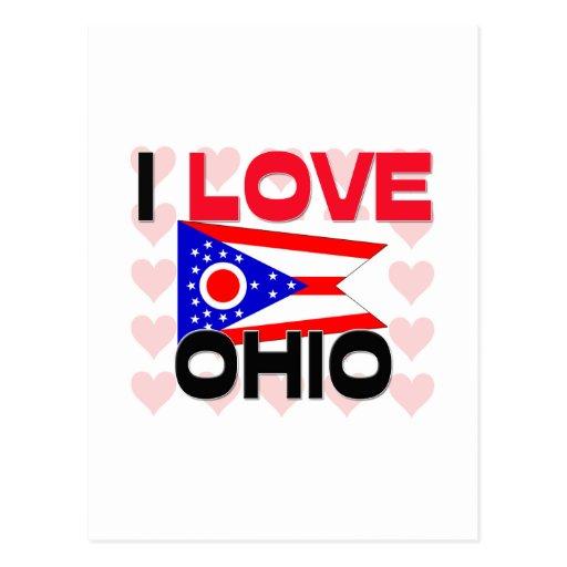 Amo Ohio Postales