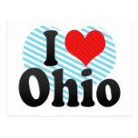 Amo Ohio Tarjetas Postales