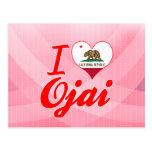 Amo Ojai, California Tarjetas Postales