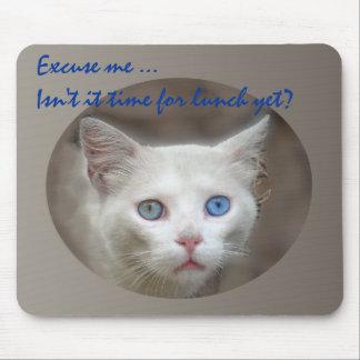 Amo ojos azules alfombrillas de ratones