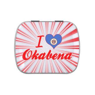 Amo Okabena, Minnesota Frascos De Caramelos